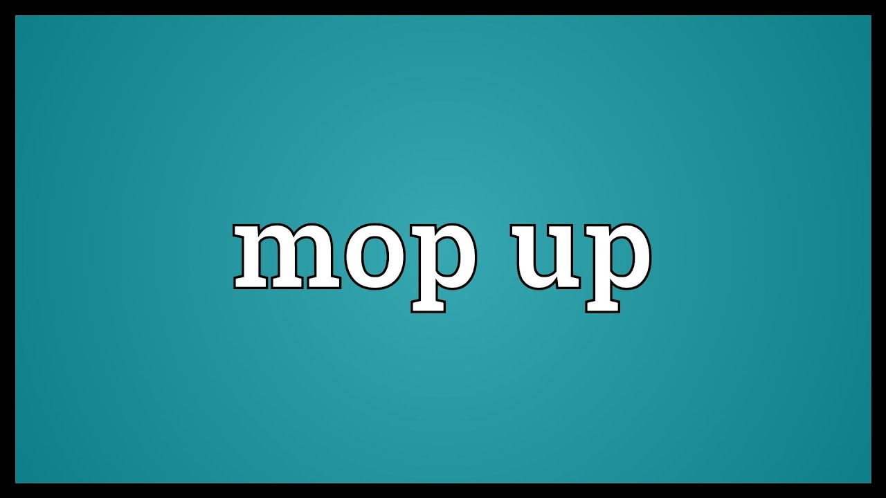 Mop Up The Floor Definition Review Home Co