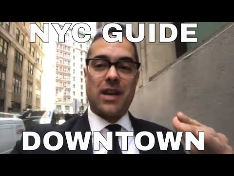 NYC GUIDE: Downtown & Wall Street - Best Places To Go!