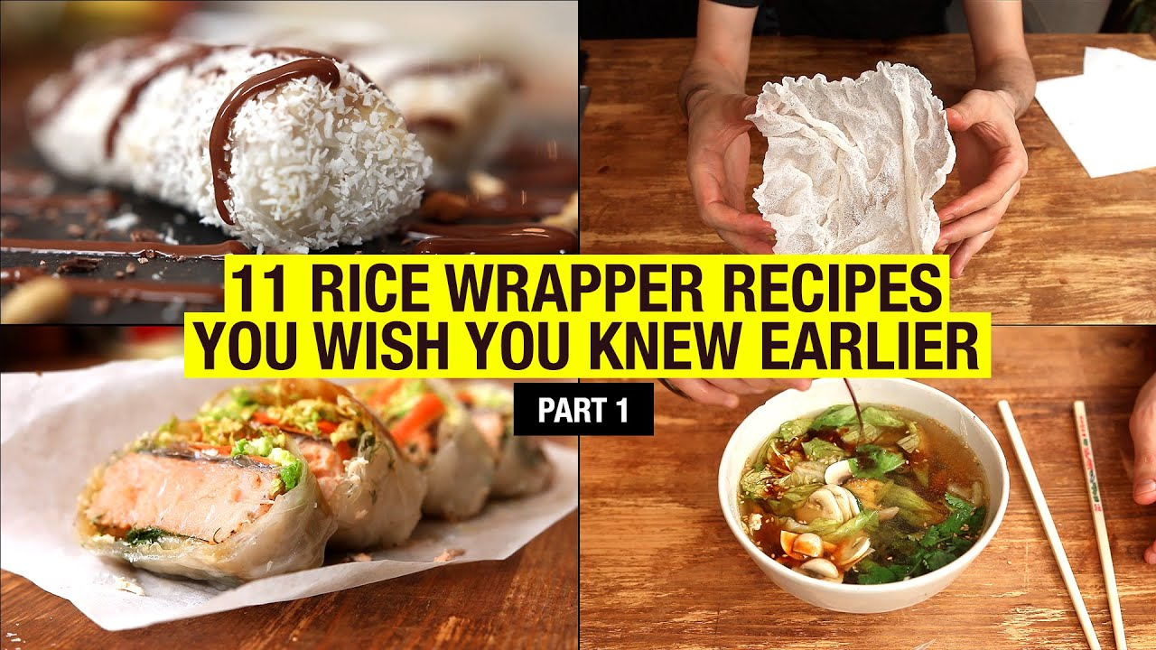 11 Recipes That Use Rice Paper Way Beyond Spring Rolls Part 1