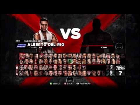 WWE '13 - ALL CHARACTERS UNLOCKED