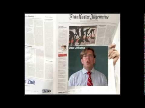 """Frankfurter Allgemeine Zeitung (FAZ): Kommentar zu Buch """"Gekaufte Journalisten"""", Udo Ulfkotte"""