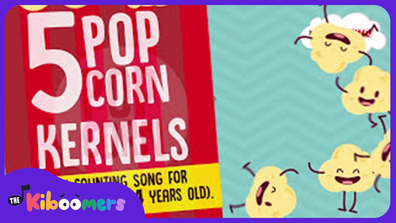 The Popcorn Song For Kids