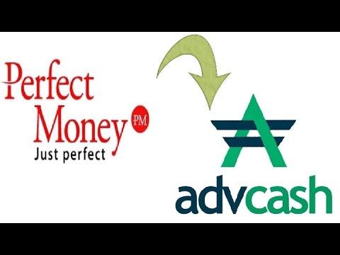 Как перевести деньги с Рerfect Маney на Advanced Cash