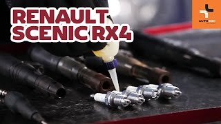 Replacing Spark plug set on RENAULT SCÉNIC: workshop manual