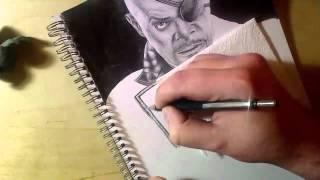 ♦ Zooc Draws - Samuel L. Jackson as Nick Fury