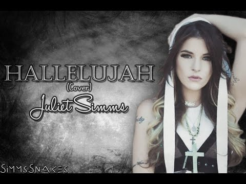 Hallelujah (Cover) - Juliet Simms lyrics