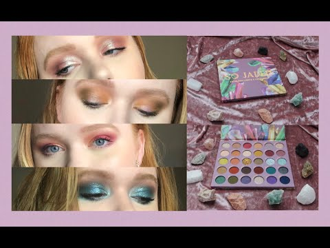 KATHLEEN LIGHTS x COLOURPOP SO JADED // 4 Looks 1 Palette | AllyBrianne thumbnail