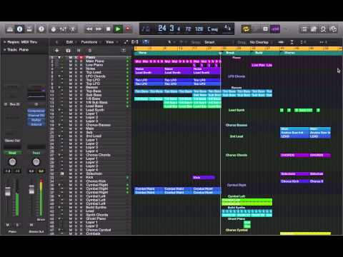 Zedd - ID in Logic Pro X (TEMPLATE DOWNLOAD) Remake