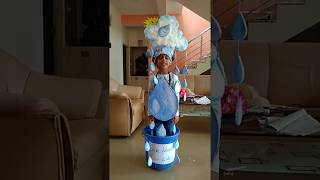 Save water save life | Fancy dress| by  Sachi Bulla from UKG