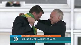 Jair Bolsonaro. Nueva etapa en Brasil