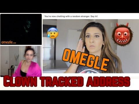 OMEGLE CLOWN FOUND MY ADDRESS // live footage