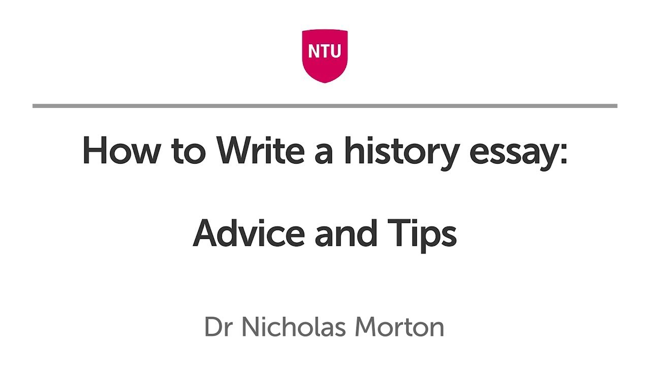 how to write a history essay advice and tips   youtube how to write a history essay advice and tips