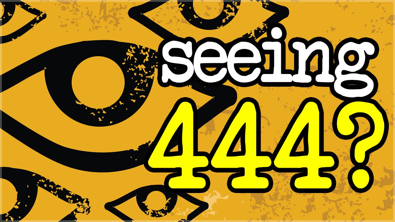 Numerology 444 Meaning Do You Keep Seeing 444 Youtube