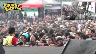 Rocket Rockers - Terobsesi (feat. Owank & Saltdimarzio) Live at Bandung Berisik 2013