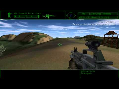 Delta Force PC Indonesia Mission Blackjack