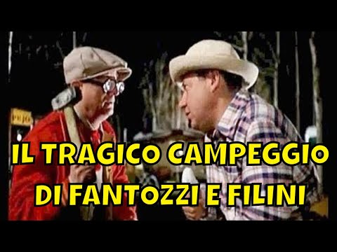 Fantozzi E Filini 🎬 Il Tragico Campeggio Al Lago Di Bracciano