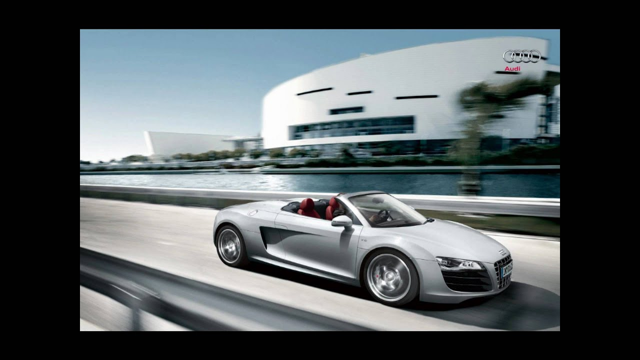 audi r8 cabrio 2010 special edition bluray 1080p youtube. Black Bedroom Furniture Sets. Home Design Ideas