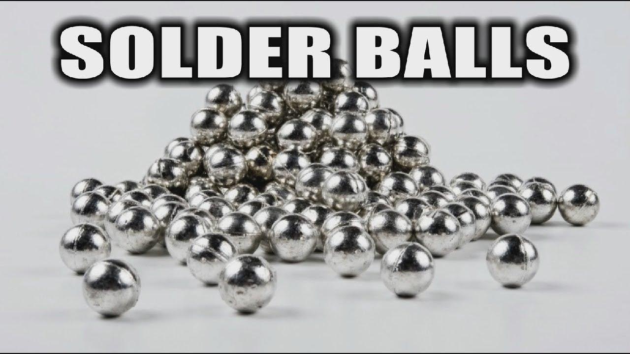 Solder Balls That I Use For Reballing Youtube