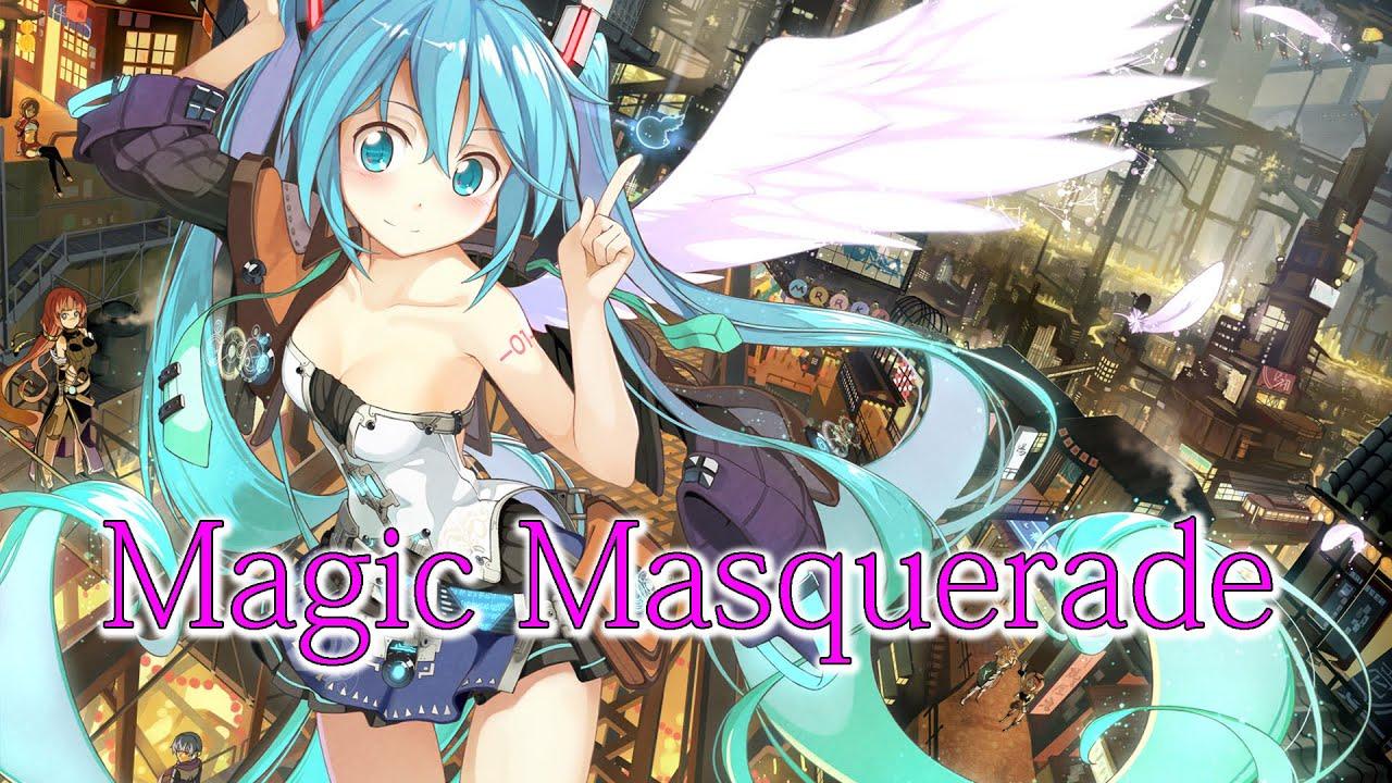 【フリーBGM】Magic Masquerade【歌あり・かっこいい・エレクトリック・ボカロ/初音ミク】