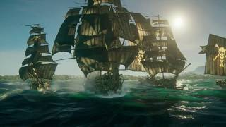 Skull and Bones Multiplayer PvP Gameplay at E3 2017