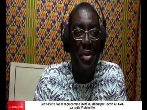 Bruno Fidelis MENSAH KOUTO dans son émission « Nya de wo va di na »