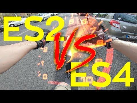 Ninebot ES2 VS Ninebot ES4 - External Battery Comparison