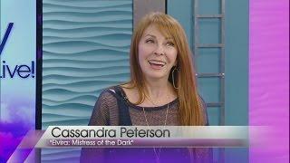 Cassandra Peterson, aka Elvira, stops by Valley View Live!