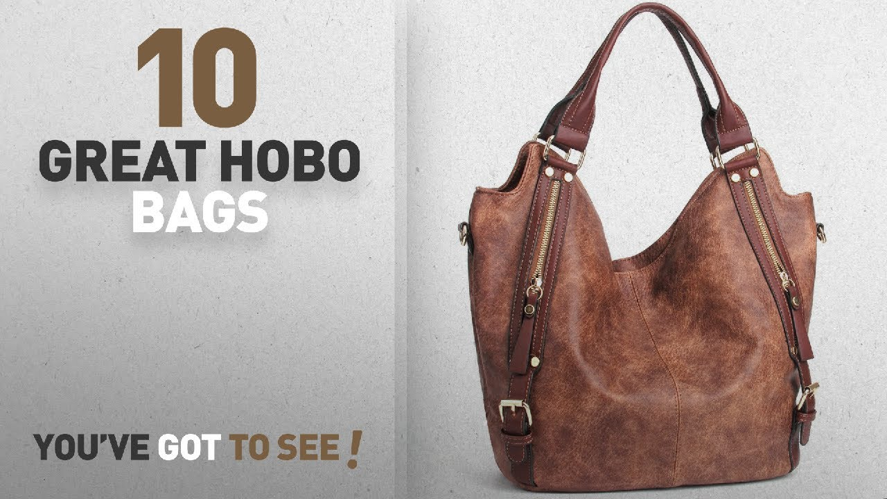 575029ce8244 Top 10 Hobo Bags For Women  JOYSON Women Handbags Hobo Shoulder Bags ...