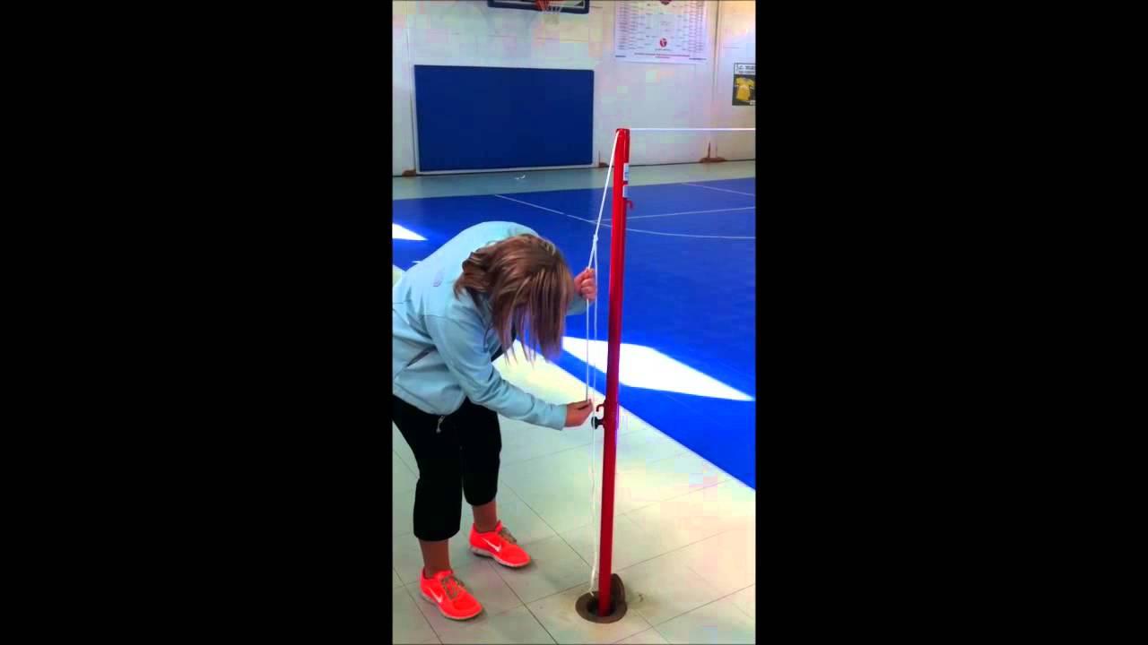 Badminton Set Up Step 3 Youtube