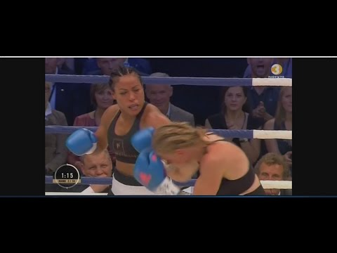 Cecilia Brækhus vs Ann Sofie Mathis The knockout