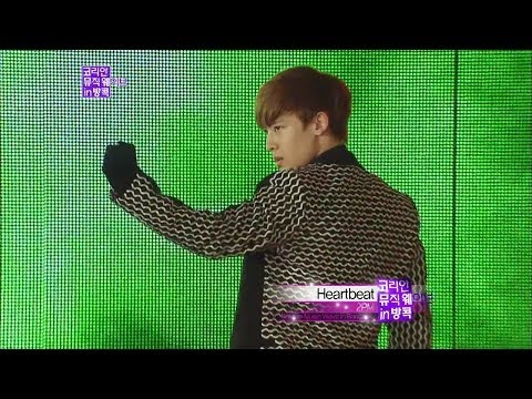 【TVPP】2PM - Heartbeat, 투피엠 - 하트비트 @ Korean Music Wave In Bangkok Live