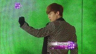 Video 【TVPP】2PM - Heartbeat, 투피엠 - 하트비트 @ Korean Music Wave in Bangkok Live download MP3, 3GP, MP4, WEBM, AVI, FLV Mei 2017