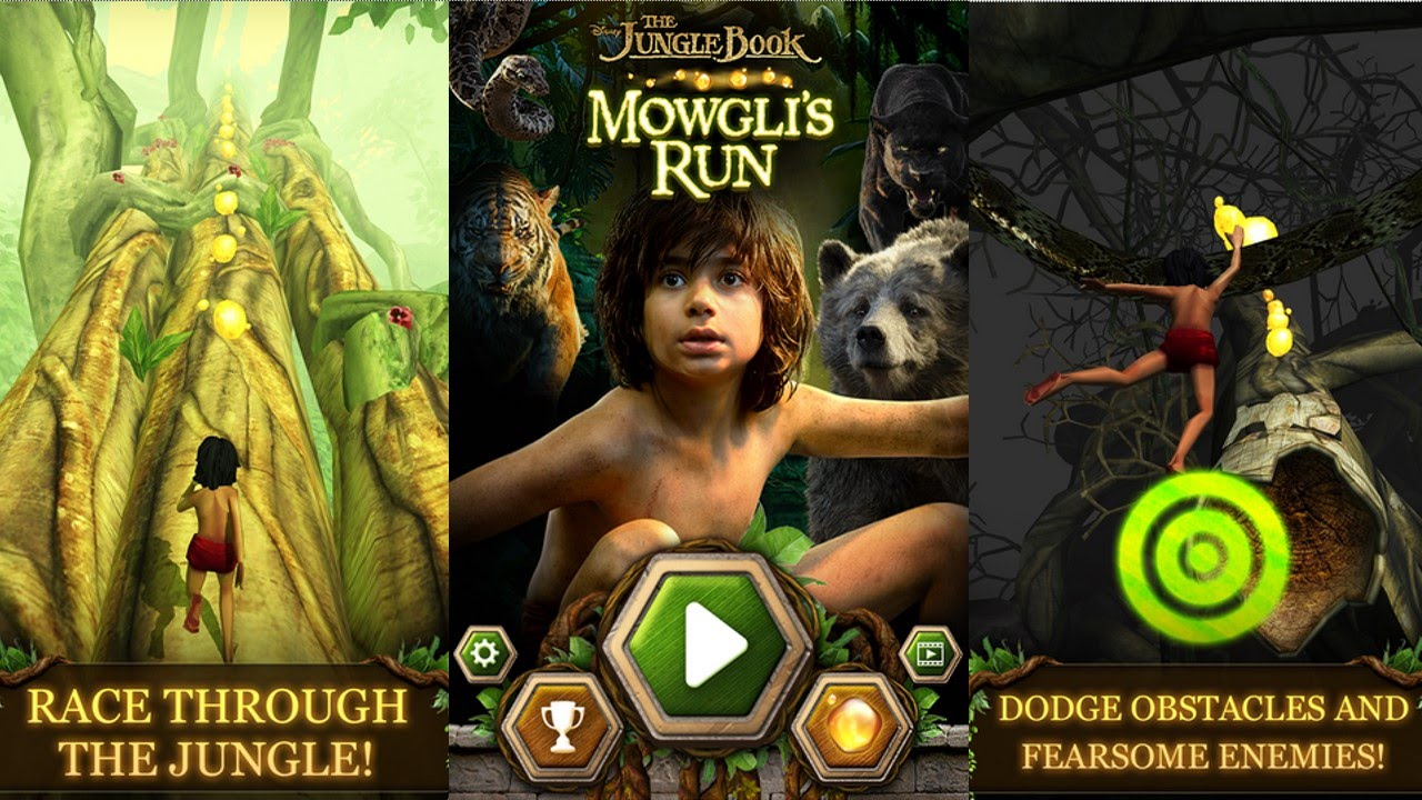 The jungle book: mowgli's run 1. 0. 3 download for android apk free.