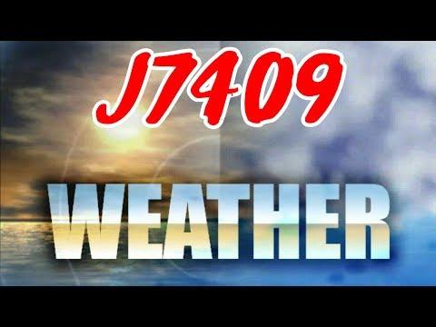 J7409 Weather Severe Flooding In TX  Baseball Size Hail In LA
