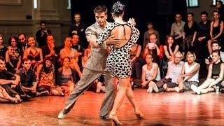Tango: Valeria Maside y Sebastián Achaval, 01/05/2016, Brussels Tango Festival, Mixed couple 4/4