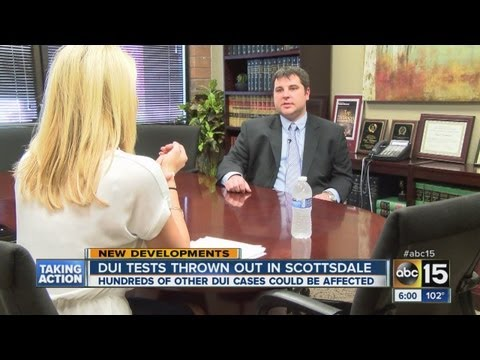 Judge Tossed Blood Tests In Scottsdale DUI Cases