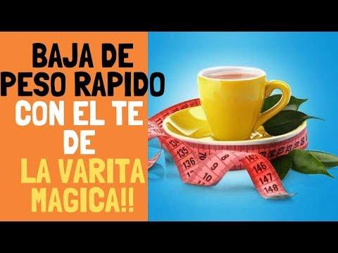 VIENTRE PLANO y MEDIDAS MENOS en 7 DIAS TOMANDO EL TE DE LA VARITA MAGICA!!