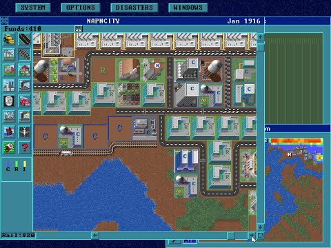 Maxis - SimCity: Enhanced - 1993