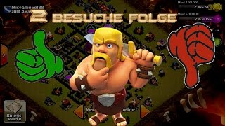 "Lets Play Clash of Clans #27 ""Clan Besuche Nr. 2 "" [HD] GER/DEUTSCH"