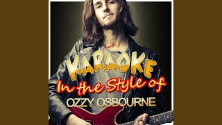 Gets Me Through (In the Style of Ozzy Osbourne) (Karaoke Version)