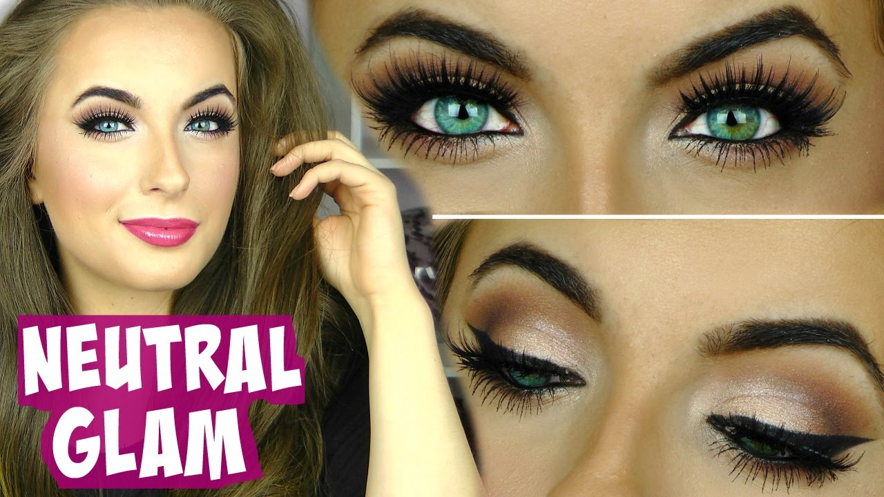 Everyday Neutral Glam Makeup Tutorial Youtube
