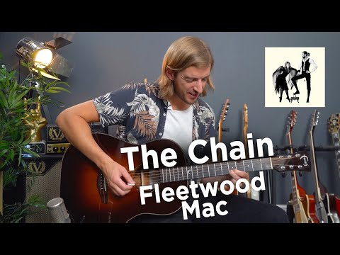 Learn The Chain by Fleetwood Mac - standard tuning, no capo and EASY CHORDS