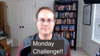 Monday Challenge - What are your 3 action items this week?