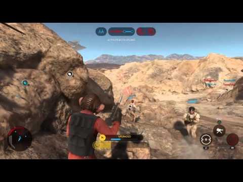 Star Wars Battlefront 90 Nien Nunb Killstreak!!