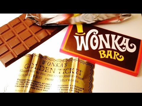 Willy Wonka And The Chocolate Factory Wonka Bar Prop Replica Review