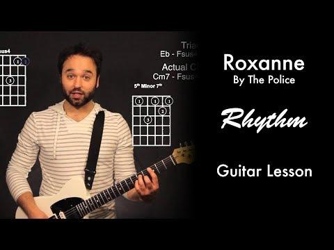 Roxanne by The Police Rhythm Tutorial