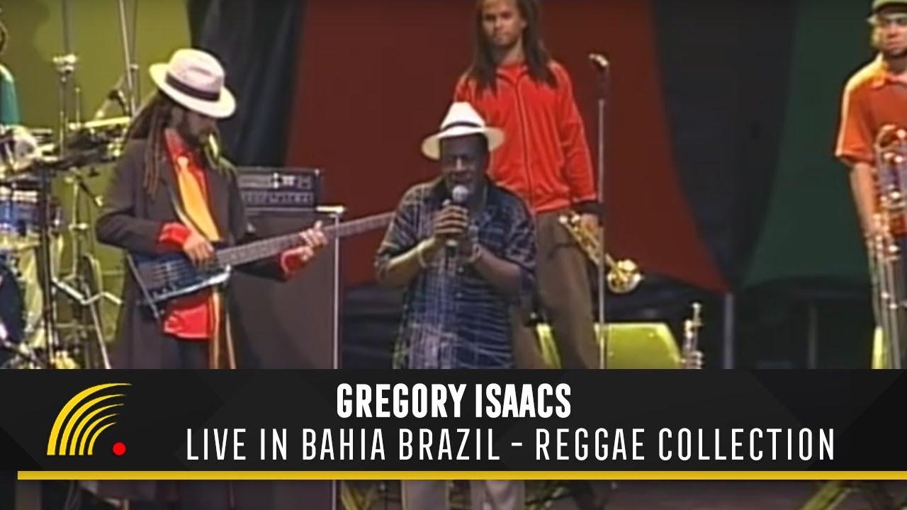 dvd gregory isaacs live bahia