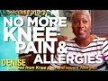 Knee Pain, Acid Reflux, Sinus Allergies, Weight Loss Case Study - 58 yo Denise