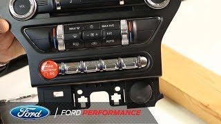 Red Starter Button Kit Installation | Performance Parts | Ford Performance