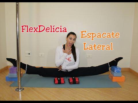 FlexDelícia Espacate Lateral  - Tutoriais de Flexibilidade por Alessandra Rancan